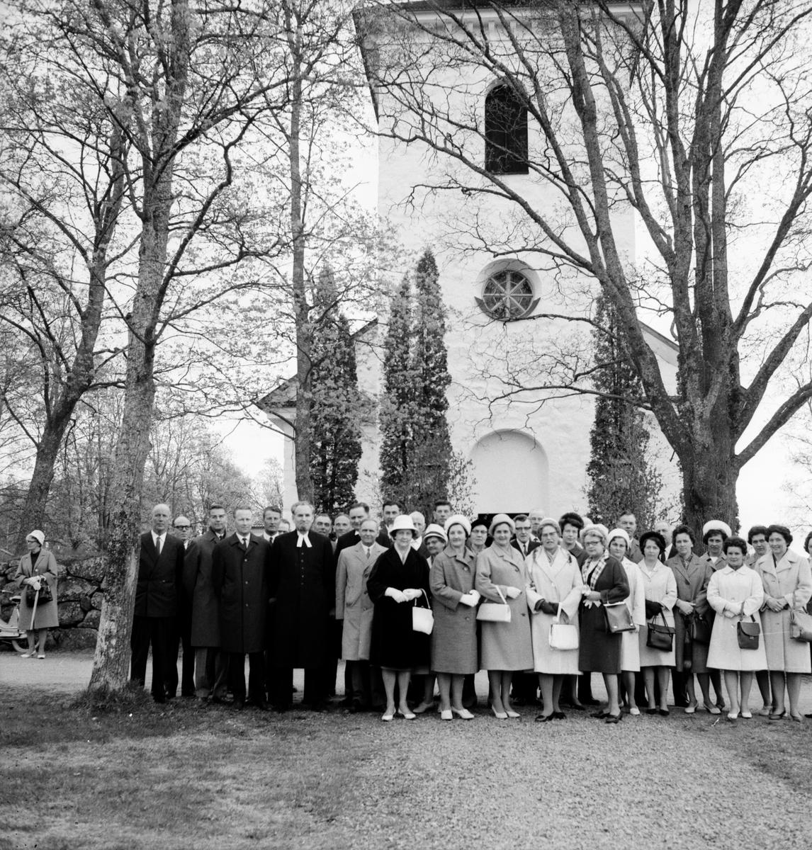 Konfirmand jubileum i Segersta. 30/5-1965
