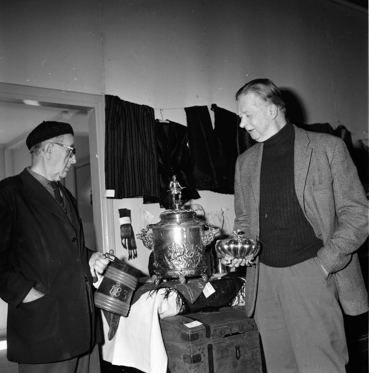 Landafors, Utställning i församlingshemmet, 3 Maj 1967