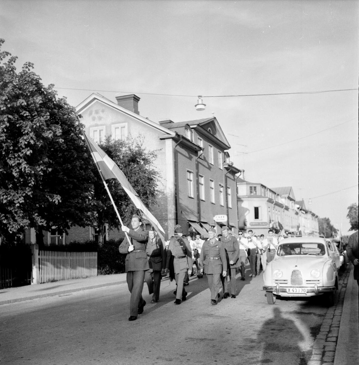 Flaggans Dag i Bollnäs 6 juni 1961
