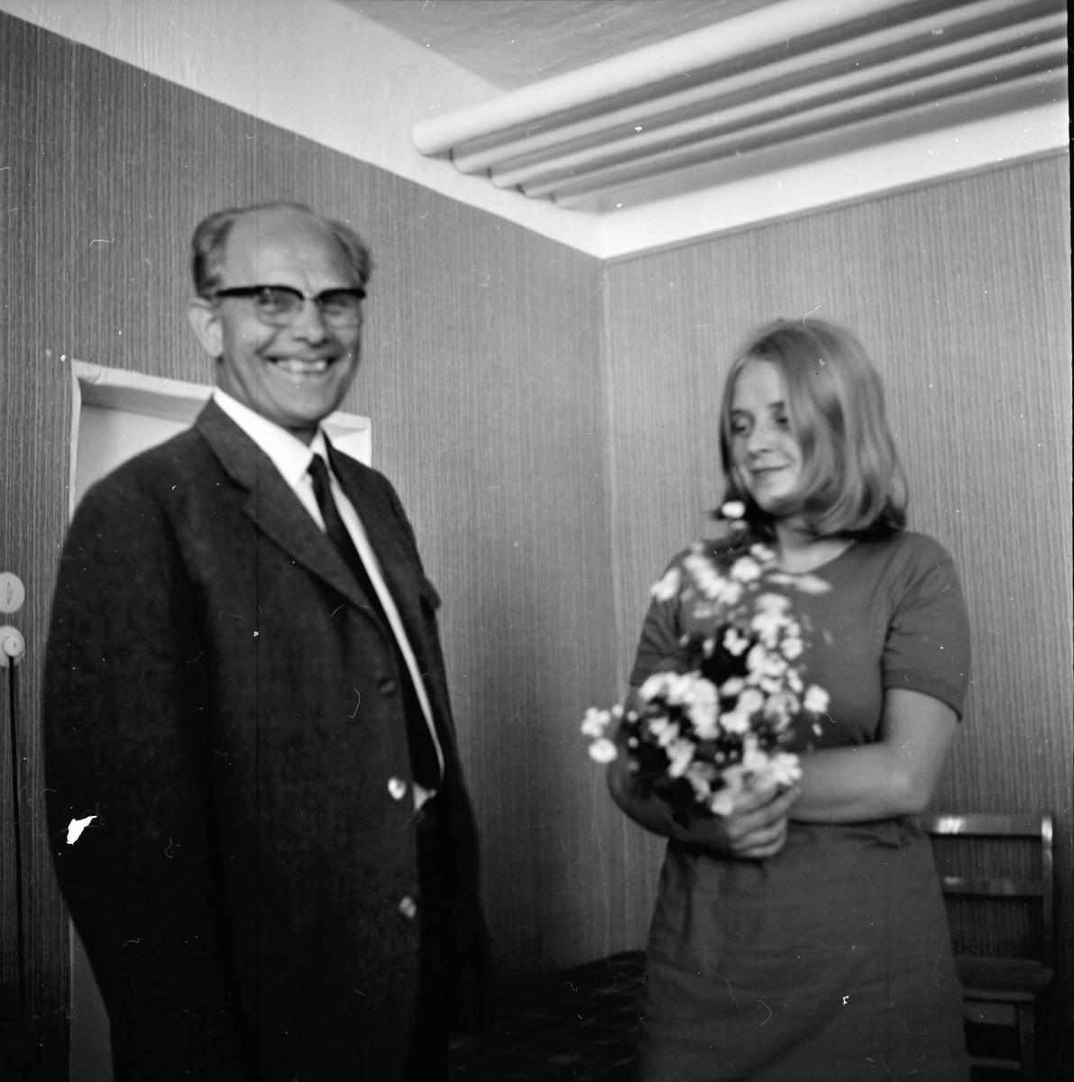 Nytorp, Höskörd och kursavslutning, Juli 1970