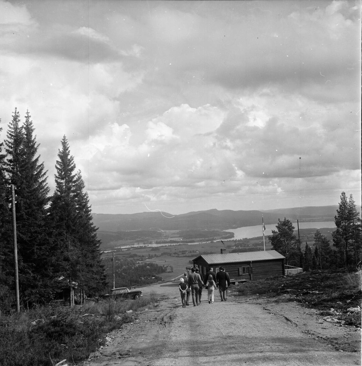 Arbrå, Landshövdingen besöker Arbrå, Juli 1970