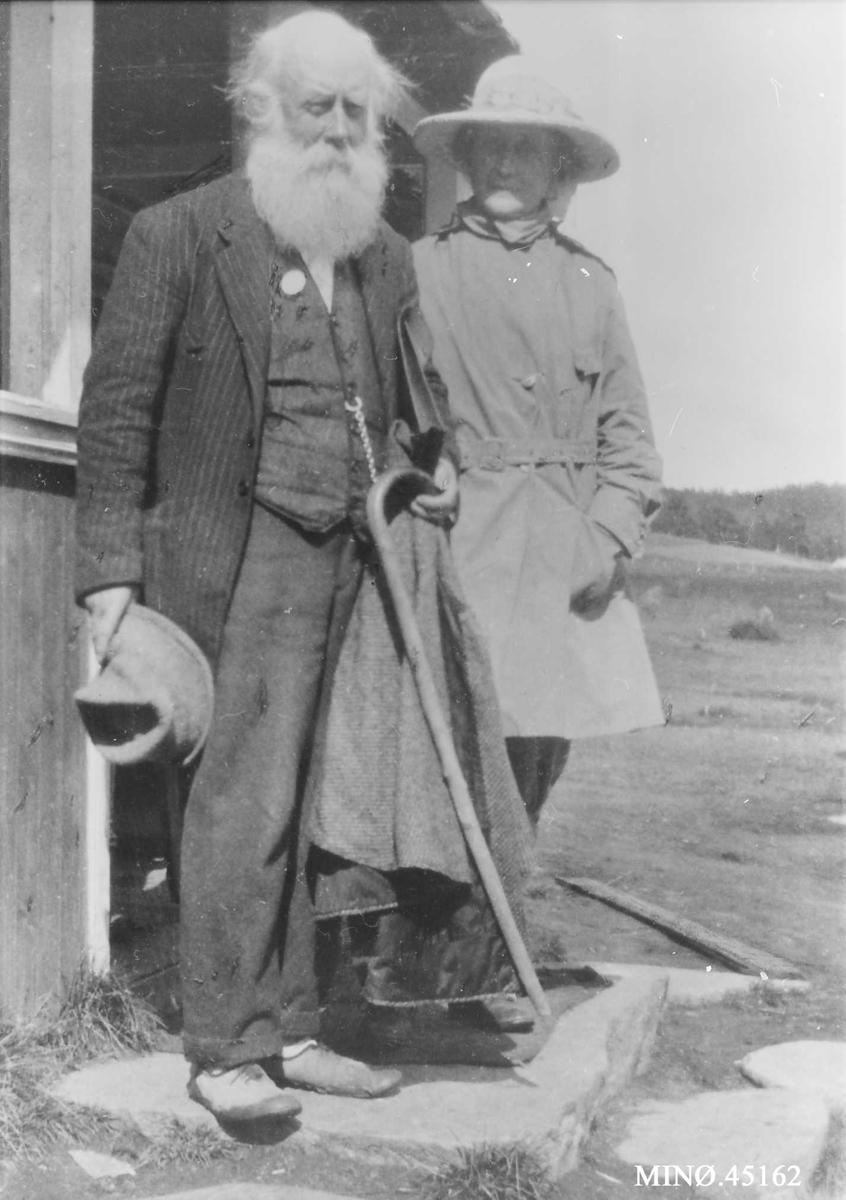 Ivar Mortensson Egnund med frue