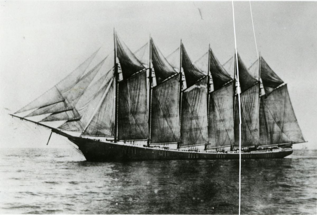 Seksmastet Skonnert 'Eleanor A. Percy' (b.1900, Percy & Small, Bath, Maine)