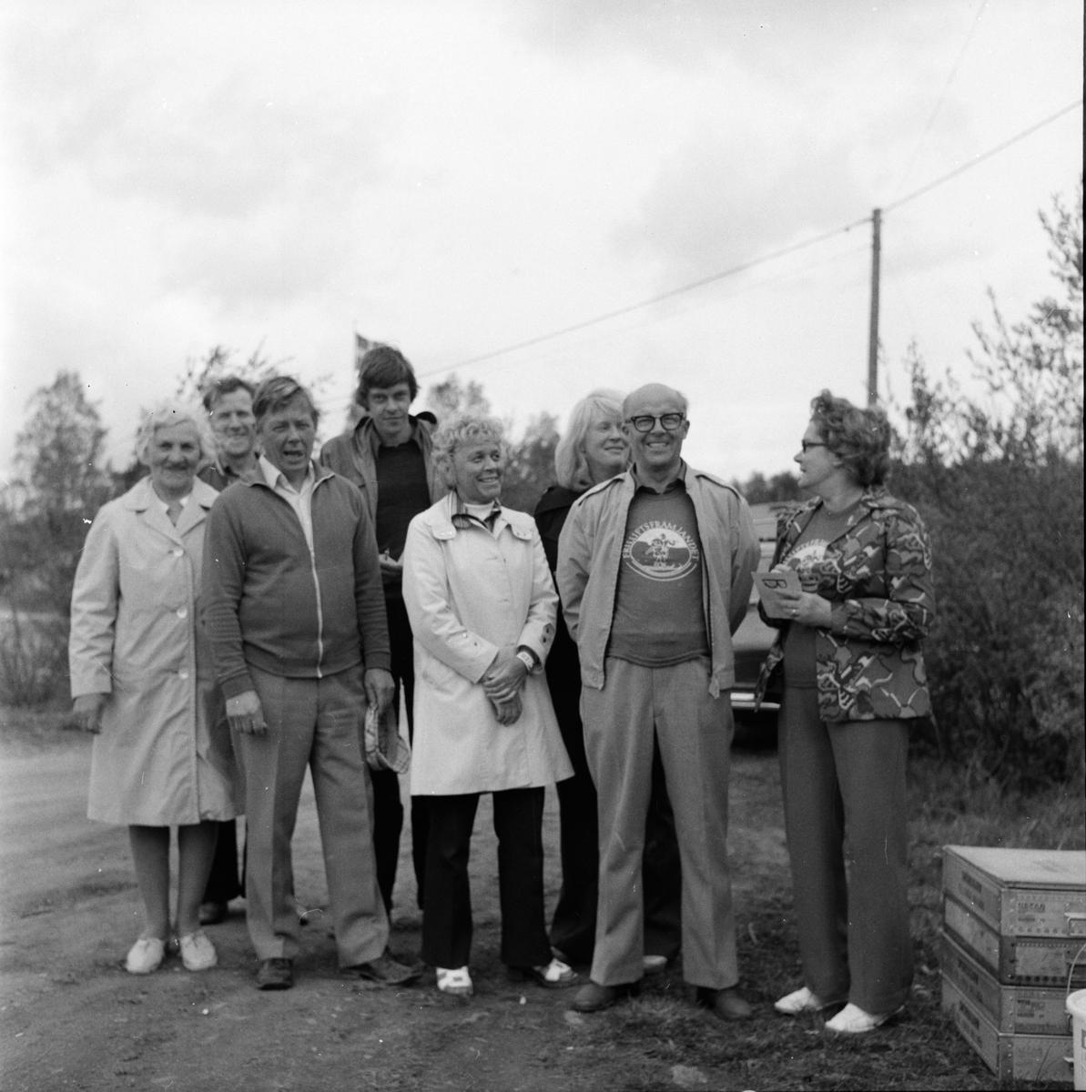 Främjarnas vårtrav. Vallsta Maj 1974