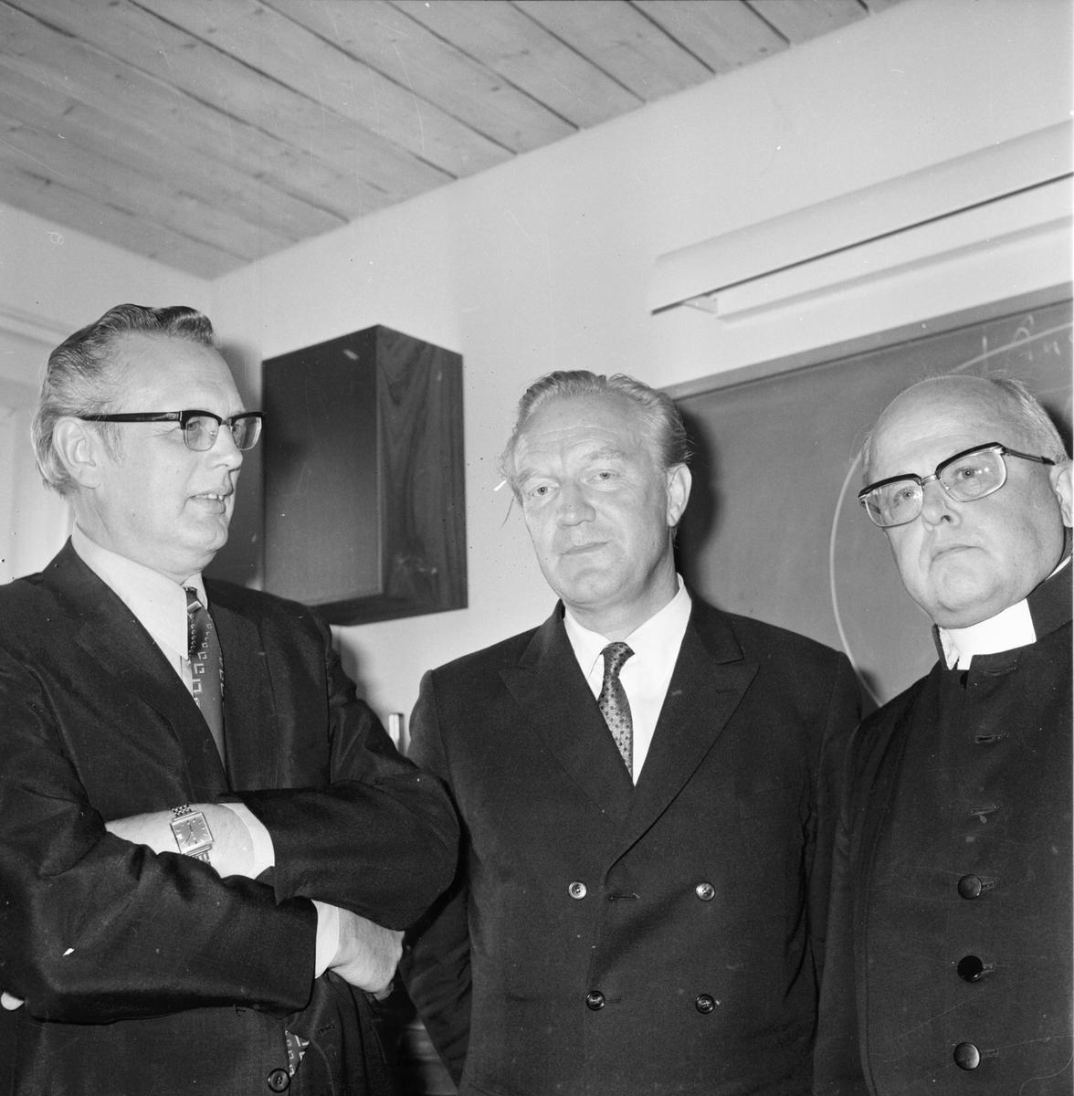 Informationskonferans, stiftsgården September 1972