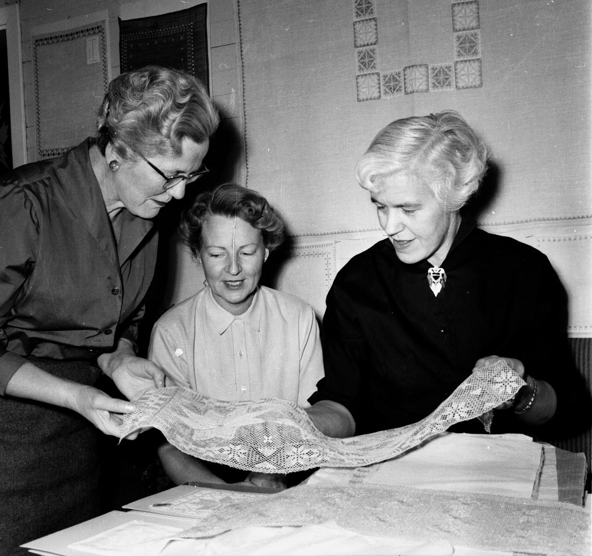 Stiftsgården, Undersvik. Hemslöjds museer. 14/1 1956