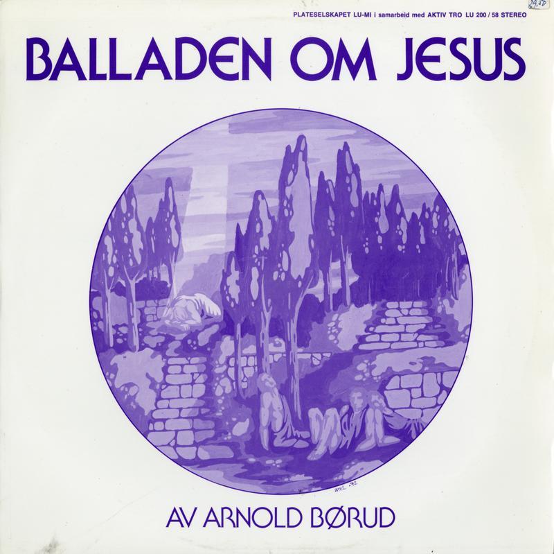 Den første innspillingen av Balladen om Jesus ble gitt ut på selskapet Lu-Mi i 1974. I 1984 ble den spilt inn i ny versjon som ble gitt ut på Arnolds eget selskap Tvers forlag. (Foto/Photo)