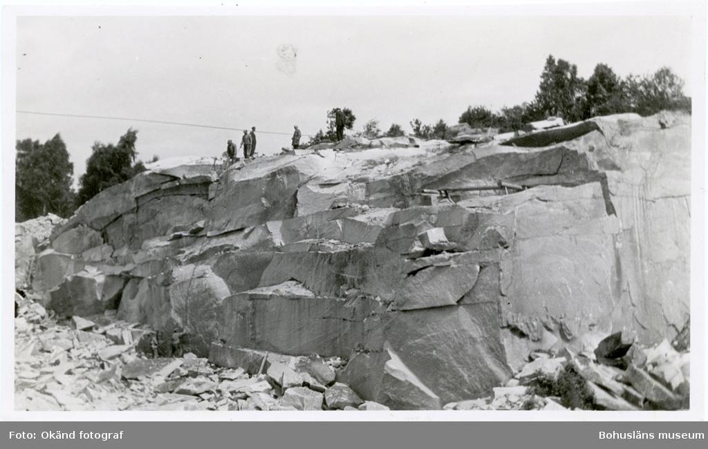 """Längden av det utskjutna blocket """"borständan""""(noterat på kortets baksida)"""