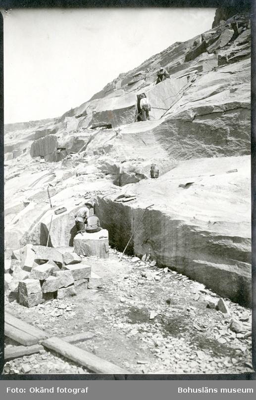 Brytning av granit