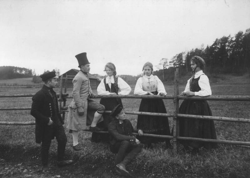 På Folkemuseet 1903. (Foto/Photo)
