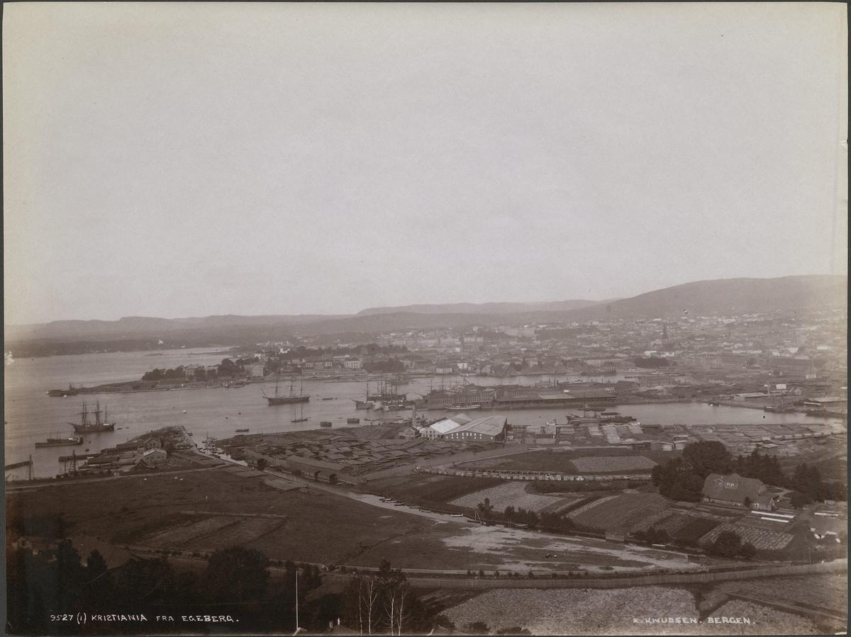 (I) Kristiania fra Egeberg [Fotografi]