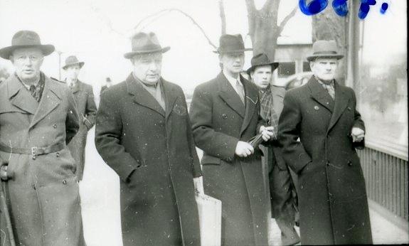 Hansson, Per-Albin, statsminister, besöker Jönköping.