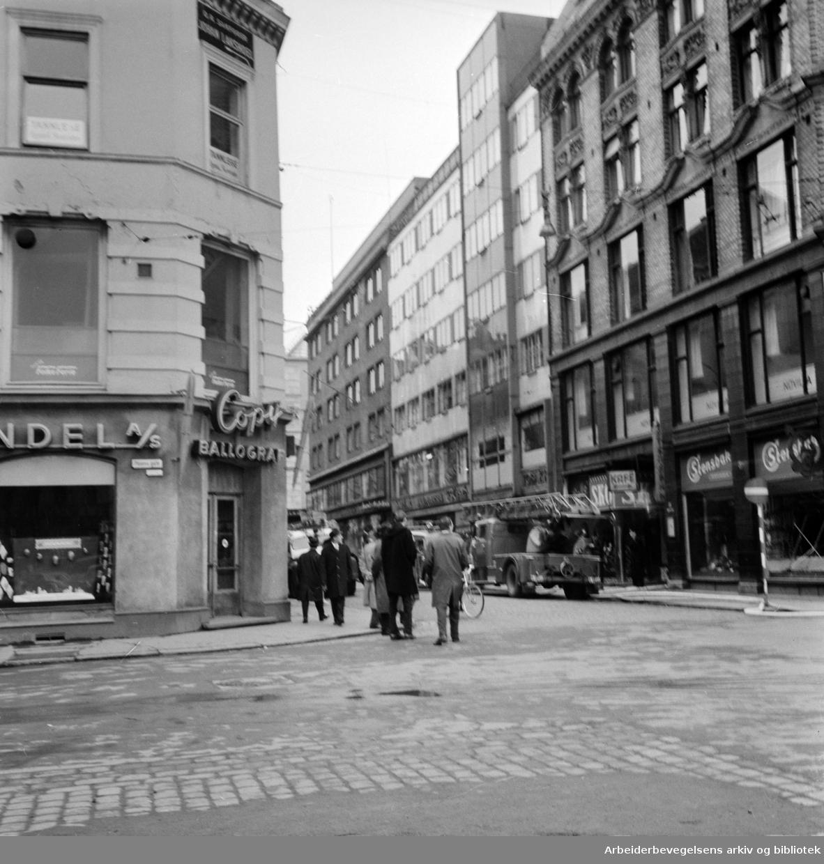 Torggata. April 1963