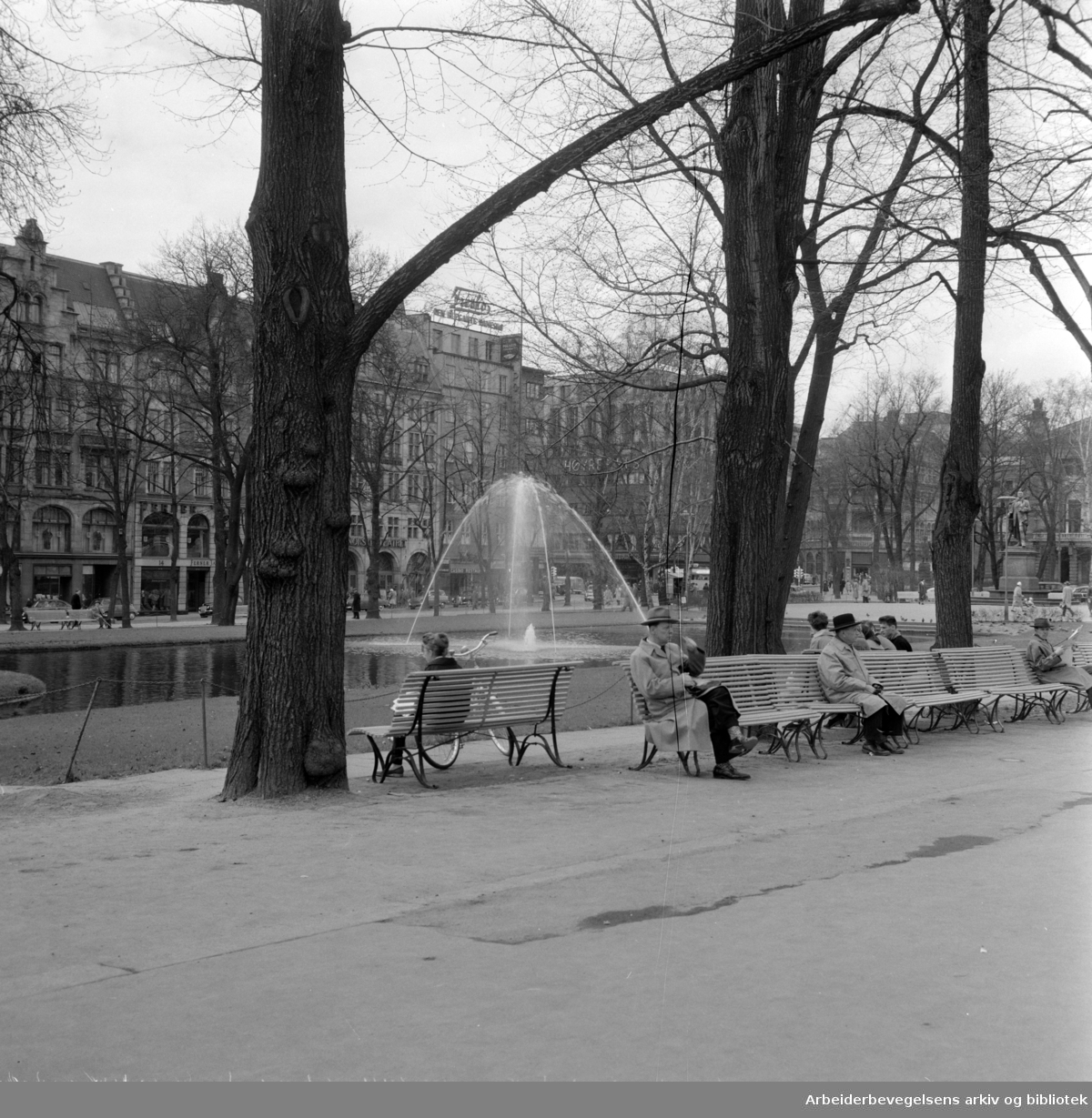 Studenterlunden. April 1959