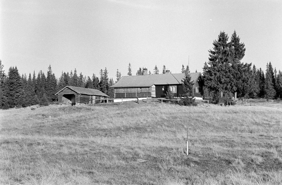"""Nysetra Philske. """"Sportsheim"""", også omtalt som """"Werenskioldvillaen"""" oppført i 1898 av daværende amtsingeniør i Hedmark Julius B Werenskiold"""