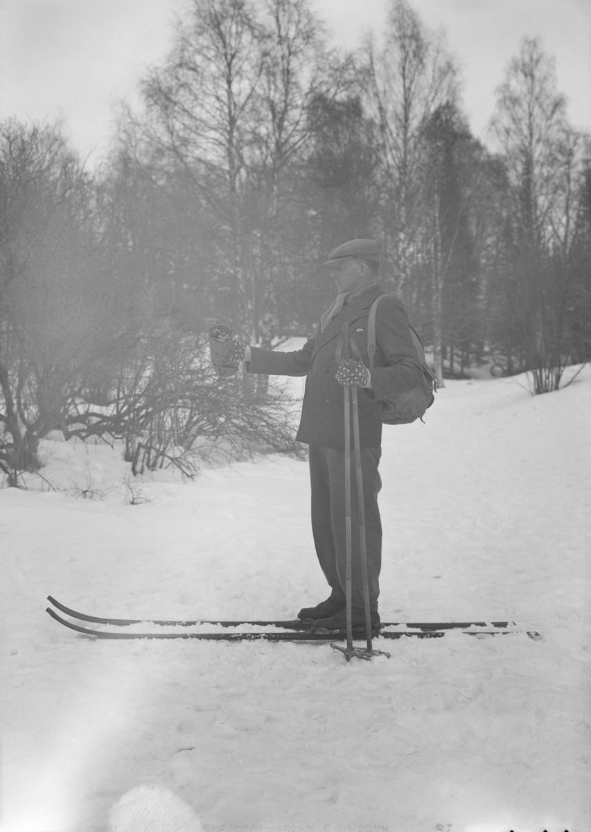 Lars Førisdal på Ski i Søndre Park.