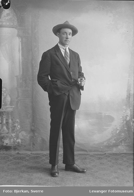 Portrett av Albert Vågen