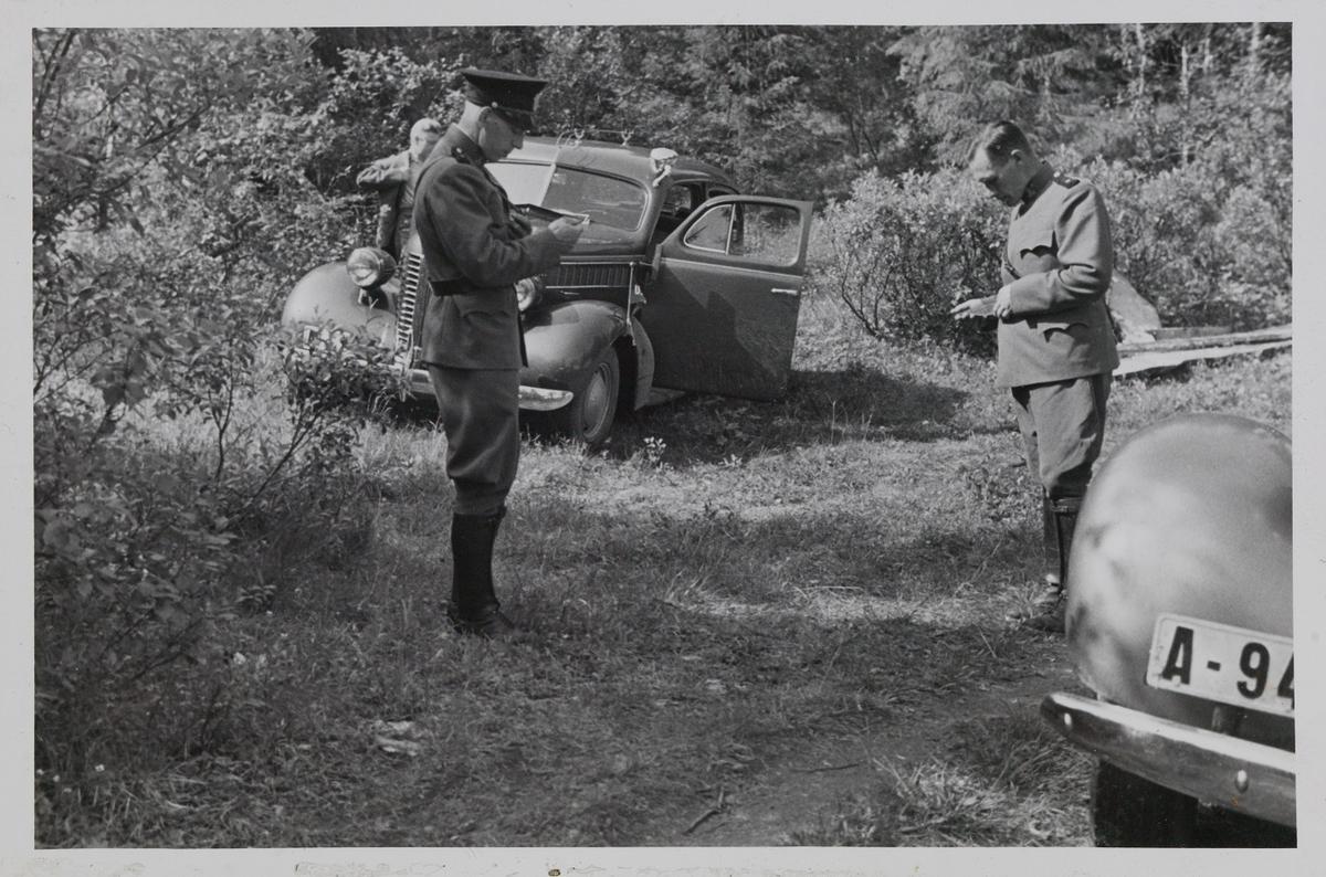 Bildet er en kopi hentet fra album F i Utrykningspolitiets fotosamling