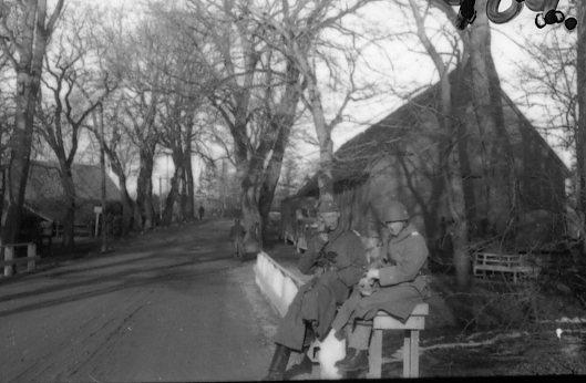 Suneson, styckjunkare och sergeant Meijner, A 6.