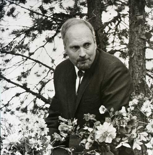 Konstnären och författaren Hans Viksten.