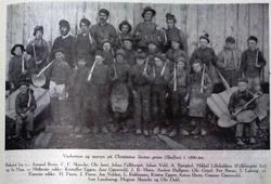 Vaskarryss ved Christianus Sextus gruve i 1890-åra. Johan Fa