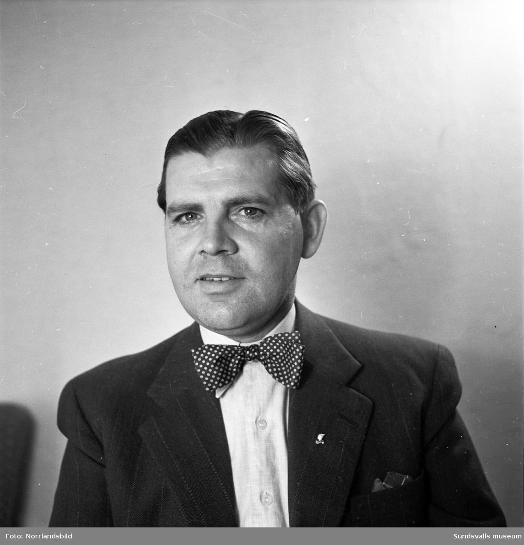Birger Nordström, Vinkeltået. Porträttbilder.