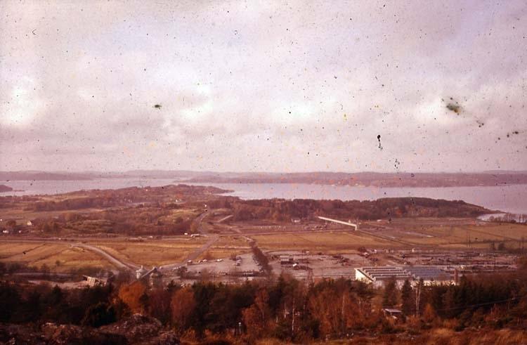 1961. Distansbild från Vetteberget mot Modo.
