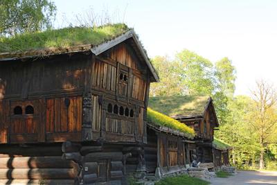 Setesdalstunet på Norsk Folkemuseum, 14.05.18. Foto: Astrid Santa