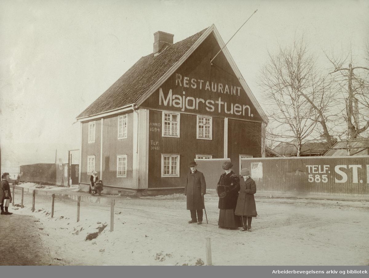 Restaurant Majorstuen.1910