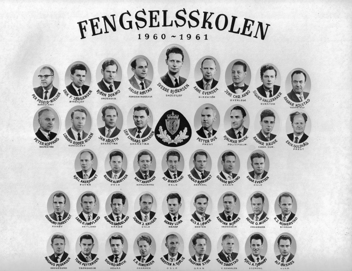 Fengselsskolen 1960-1961