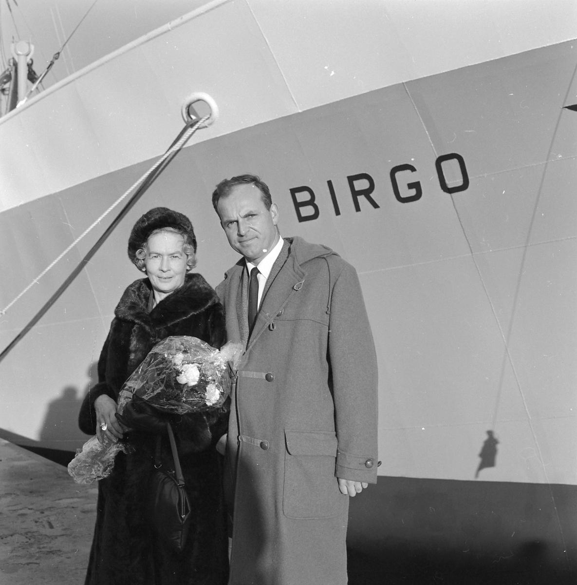 M/S Birgo døpes