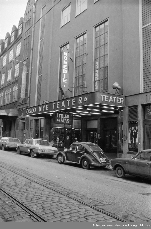 Oslo Nye Teater. Desember 1974.