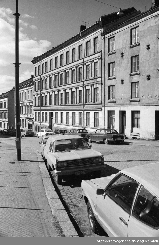 Maridalsveien 54. April 1954