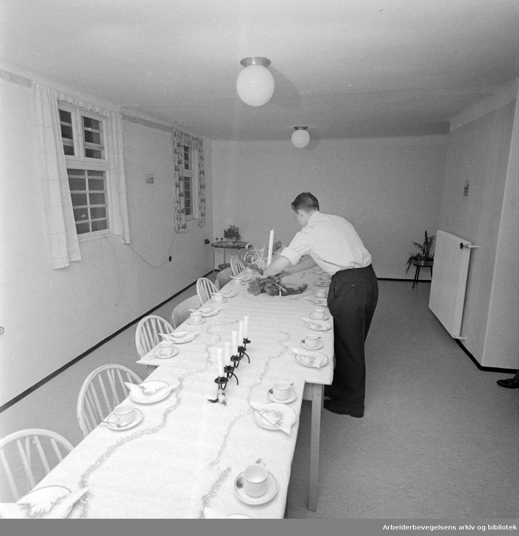 Kretsfengslet: Ny lukket ungdomsavdeling. Februar 1960