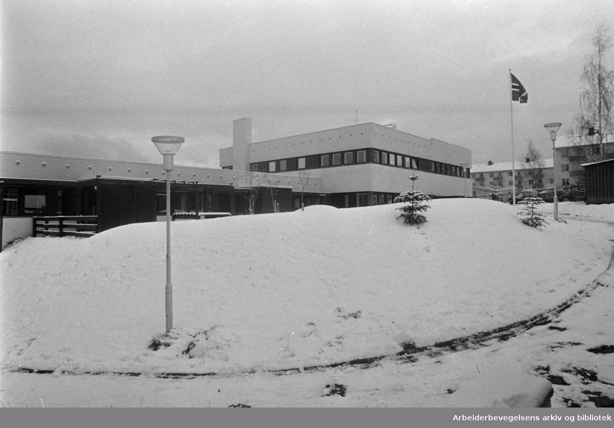 Kapellveien Barneinstitusjon. Åpning. November 1973