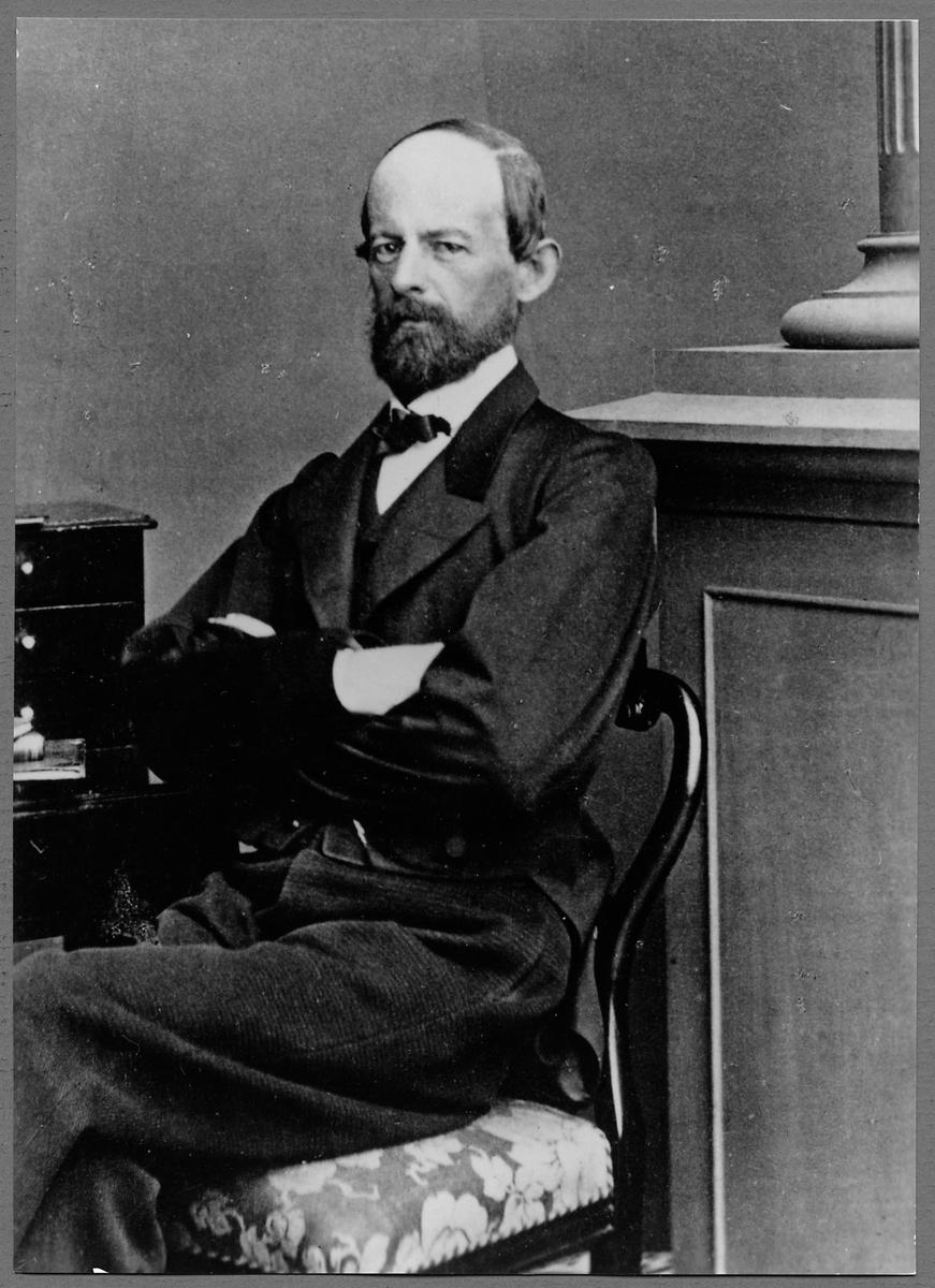 Stationsföreståndare Carl Ludvig Wilhelm von Greiff.