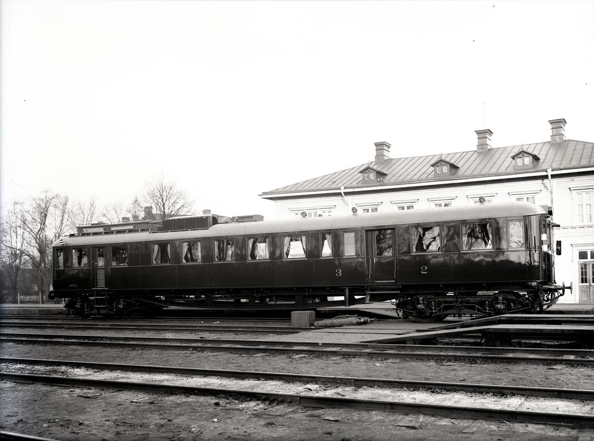Diesel-elektrisk vagn för SNCB, Belgien. Tillverknings år: 1931.