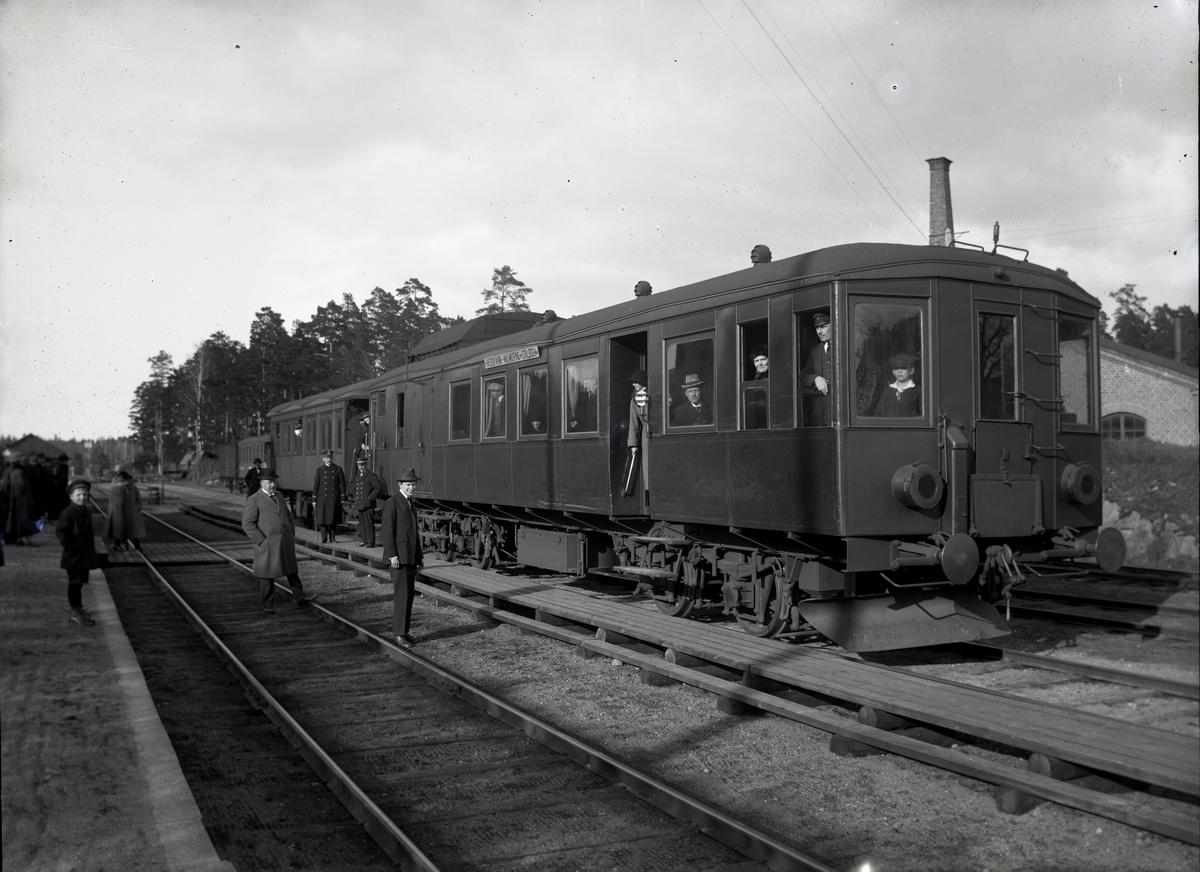 Diesel-elektrisk vagn för MISIJ. Tillverknings år: 1913.