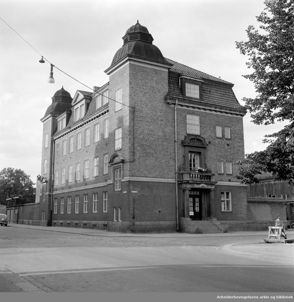 Desinfeksjonsanstalten i Heimdalsgata 14. August 1960