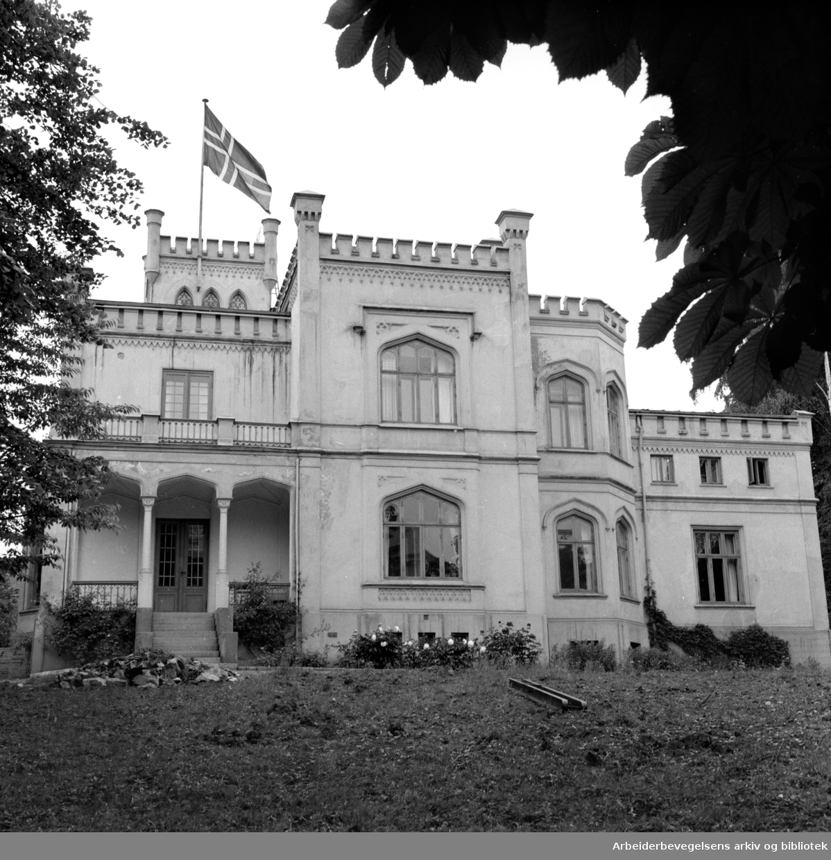Bygdøy. Oscarshall. 1950 - 1959