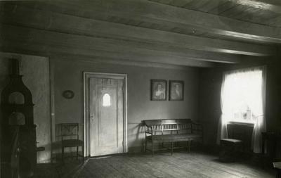 Interiør i Barthegården på Norsk Folkemuseum. 1930. (Foto/Photo)