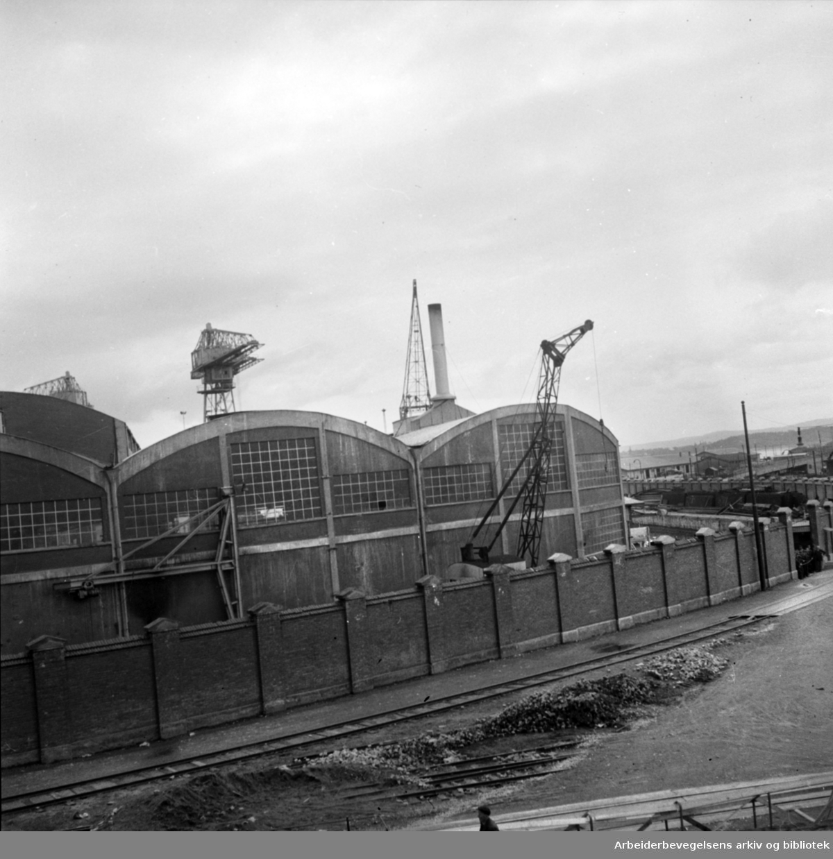 Akers Mekaniske Verksted. 1948.