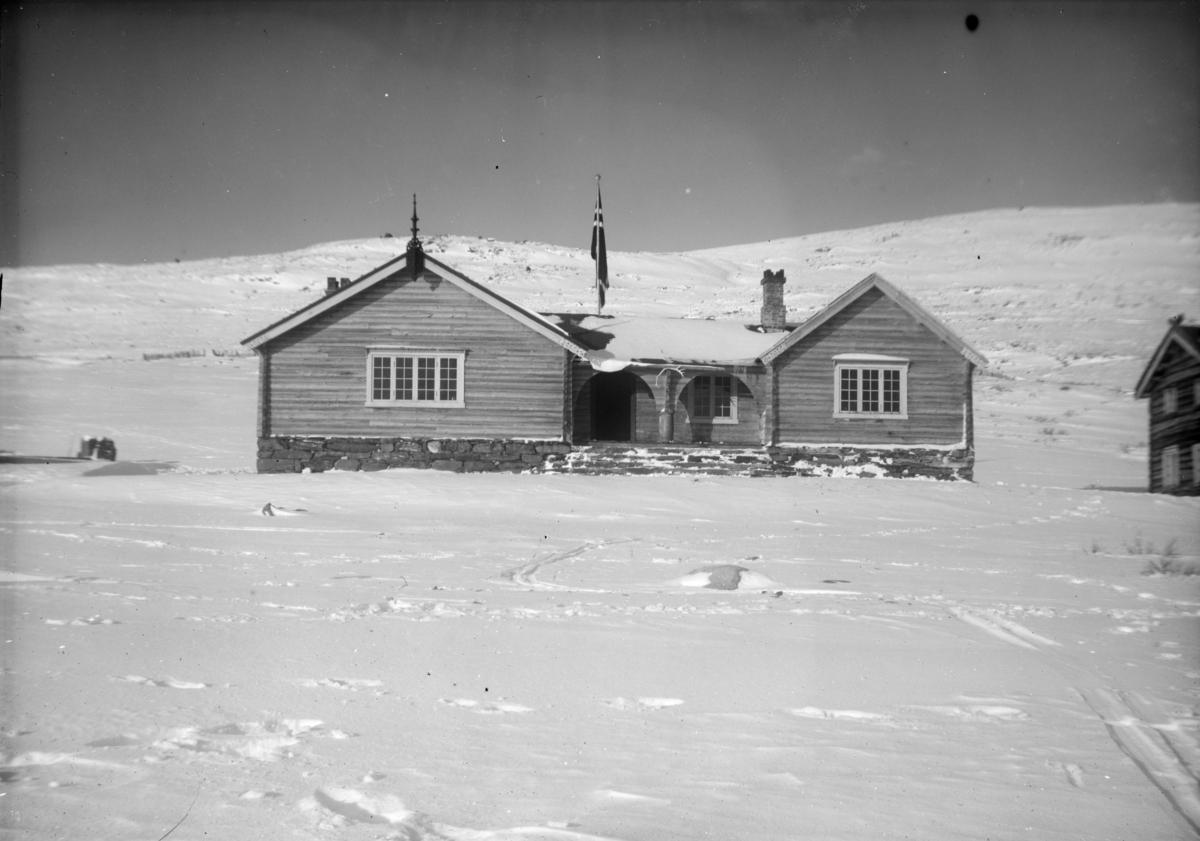 Sjodalen, Bessheim i vinterlandskap