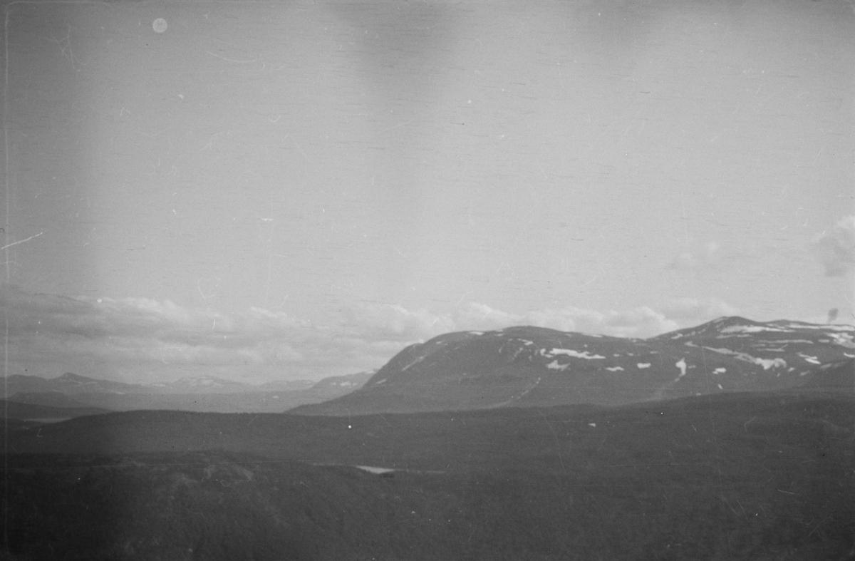 Fjellandskap i Jotunheimen.