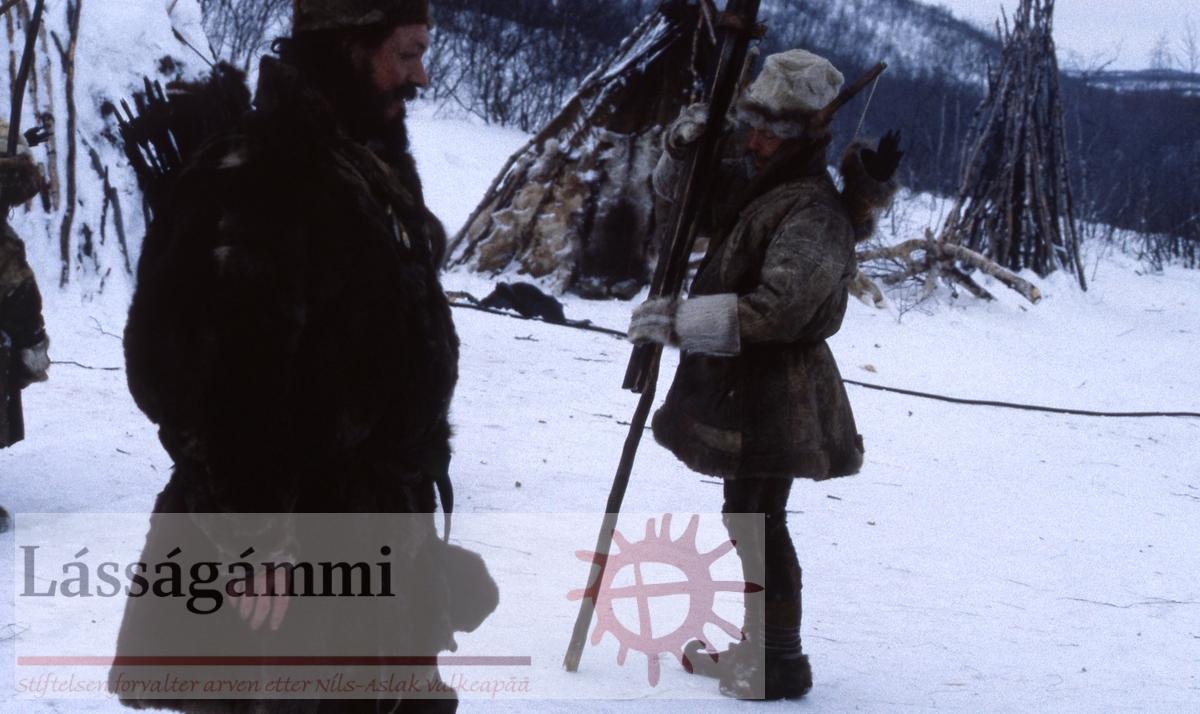 Fra innspillingen av filmen Veiviseren | Ofelaš