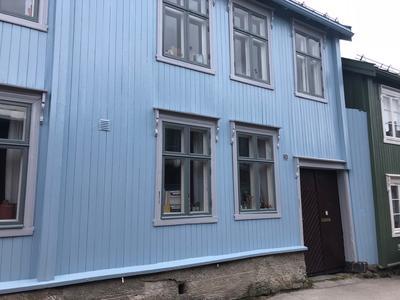 Linoljemaling Flanderborg