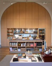 Nya butiken på Nordiska museet inför öppningen 29 september