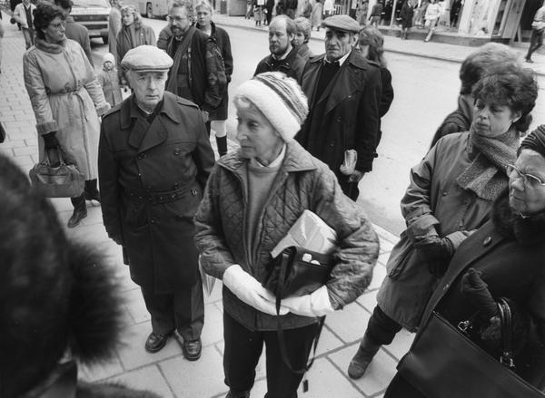 Tarar och tyst minut vid ground zero
