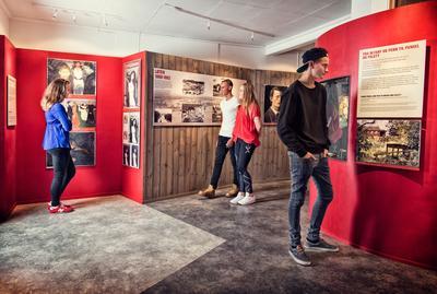 Munch-senteret inneholder informasjon om Munchs tilknytning til Løten og gir også muligheter for opplevelser.