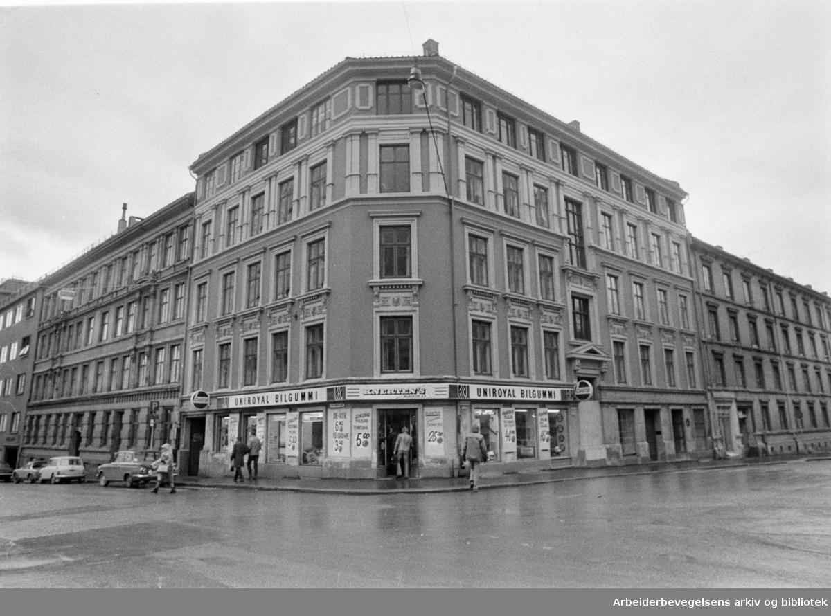 Ruseløkkveien 50. Desember 1972